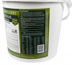 rock dust natural fertiliser certified organic 10kg no frills