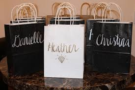 bachelorette gift bags how to make customized gift bags for the bachelorette party