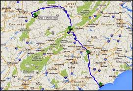 kentucky backroads map bill and nancy moving on bridge sp ky wed july 2 to