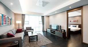 Two Bedroom Apartments Central Seoul Apartment For Rent Fraser Place Seoul Korea Hotel