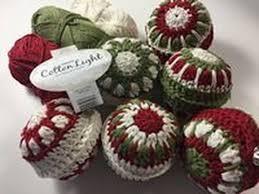 crocheted christmas ophelia talks about crochet christmas baubles