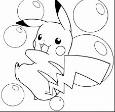 surprising pokemon pikachu coloring pages printable pokemon