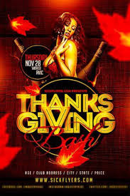 free thanksgiving psd flyers flyershitter