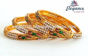 gold bangle bracelet sets images One gram gold bangles set wholesale bridal pearl bangles set one jpg