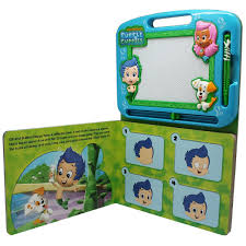 bubble guppies learning book with magnetic drawing pad u2013 daves deals