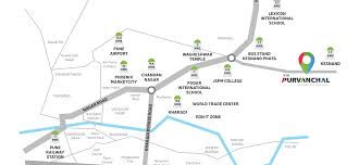 Phoenix College Map by Vtp Purvanchal Wagholi Pune By Vtp Group