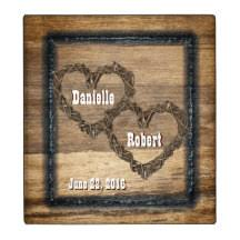 rustic wedding album rustic wedding album custom binders zazzle