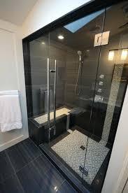 cabine de avec siège intégré cabine avec siage integre pare baignoire et mosaique cabine