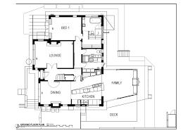 ground floor extension plans ground floor plan modern renovation extension in melbourne white