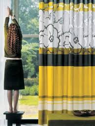 Yellow Window Curtains Black And Yellow Curtains Curtains Ideas