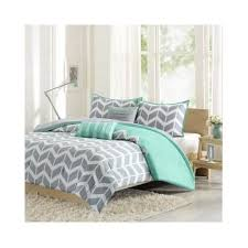 Amazon Com Modern Teen Girls by Modern Grey And White Chevron Stripes Teen Girls Bedding And
