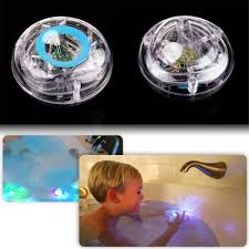 new party tub bath time fun kid shower funny color changing led
