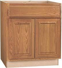oak kitchen cabinet base hton bay 2478218 hton assembled 30x34 5x24 in sink