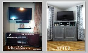 Media Room Built In Cabinets - ana white tall corner media console diy projects