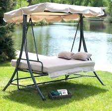 outdoor glider swing with table outdoor swings and gliders dobroeutro