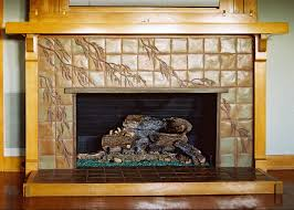 Craftsmen Style Fireplaces U2014 Pasadena Craftsman Tile