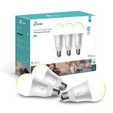 alexa light bulbs no hub kasa smart wi fi led light bulb by tp link soft white dimmable