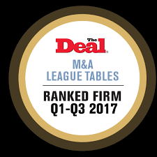 Investment Banking League Tables M U0026a Welcome To The Deal