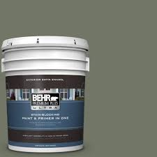 Behr Chipotle Paste by Behr Premium Plus Ultra 5 Gal Ppu10 19 Conifer Green Satin