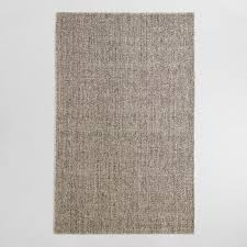 6x9 Wool Area Rugs Light Gray Emilie Flatweave Sweater Wool Area Rug World Market