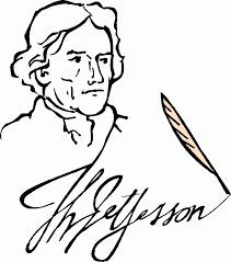 thomas jefferson coloring page thomas jefferson coloring page