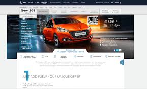 peugeot website peugeot 208 analyse a real ppc campaign ppc org