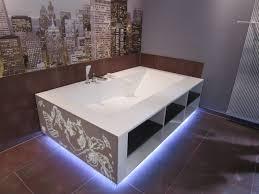 cuisine en corian cuisine corian salle de bain corian crea diffusion avec baignoire