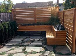 Deck Planters And Benches - planter box bench seat garden ideas pinterest bench seat