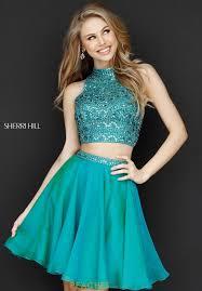 sherri hill short prom dress 51296 at peaches boutique