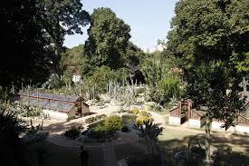 botanical garden ticket and visit