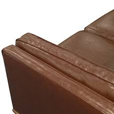 Seater Stylish Leatherette Brown York Sofa Melbournians Furniture - York sofa bed 2
