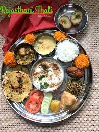 cuisine rajasthan rajasthani thali ribbons to pastas