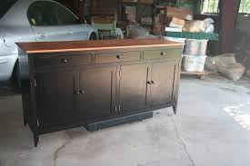 2017 latest free standing kitchen sideboards