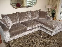silver tufted sofa crushed velvet chesterfield corner sofa memsaheb net