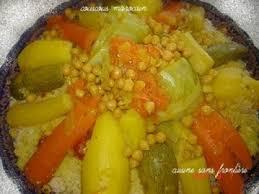 cuisine marocaine couscous couscous marocain au poulet recette ptitchef