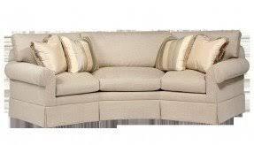 Conversation Settee Small Curved Couch Foter
