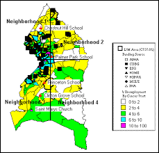 prince georges county map prince george s county consolidated plan for 1995 executive summary