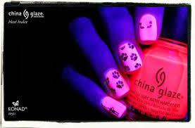 china glaze neon u0026 kitties nailderella
