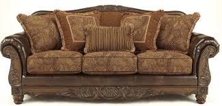 fresco durablend antique sofa from ashley 6310038 coleman