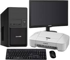 ensemble ordinateur de bureau pas cher pack rentrée bureautique réparation ordinateur de bureau grosbill