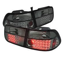Led Tail Light Bulbs For Trucks by Amazon Com Spyder Honda Civic 96 00 2dr Led Tail Lights Red