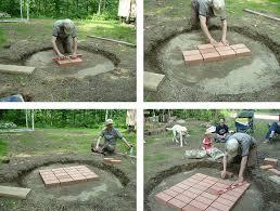 Make A Firepit Make A Pit Out Of Bricks Best 25 Rock Pits Ideas
