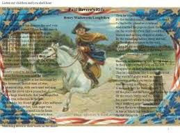 paul revere s ride book paul revere s ride by longfellow ppt