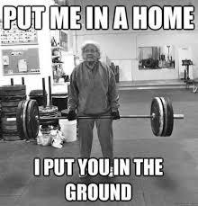 Funny Grandma Memes - my grandma is better than your grandma funny grandma weights