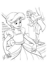 solutions disney princess mermaid coloring pages 2