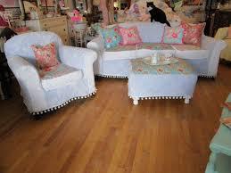 Shabby Chic Slipcovered Sofa Vintage Chic Furniture Schenectady Ny My New Slipcovered Sofa