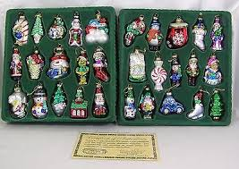pacconi ornament boxed set of 30 museum series