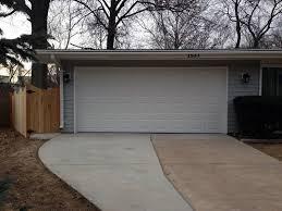 2 Door Garage by 2 Car Garage Expansion
