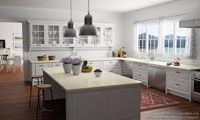 White Kitchen Design Ideas White Kitchen Cabinets With Quartz Countertops U2013 Quicua Com