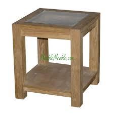teak wood side table reclaimed teak small side table top glass 40 teak furniture producer